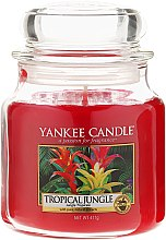Духи, Парфюмерия, косметика Ароматическая свеча в банке - Yankee Candle Tropical Jungle