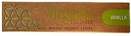 Духи, Парфюмерия, косметика Ароматические палочки - Song Of India Organic Goodness Vanilla
