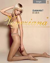 """Духи, Парфюмерия, косметика Колготки для женщин """"Diamant"""", 8 Den, grigio - Veneziana"""