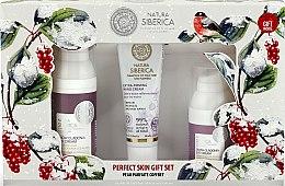 Духи, Парфюмерия, косметика Набор - Natura Siberica Snow Cladonia Gift Set (f/cr/50ml + eye/cr/30ml + h/cr/30ml)