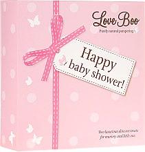 Духи, Парфюмерия, косметика Набор - Love Boo Happy Baby Shower (sh/gel/250ml + sh/gel/50ml)
