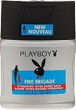 Духи, Парфюмерия, косметика Бальзам после бритья - Playboy Fire Brigade After Shave Balm