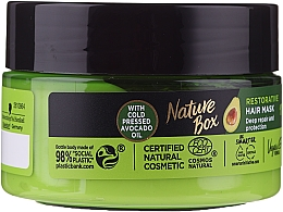 Духи, Парфюмерия, косметика Интенсивная маска для волос - Nature Box Avocado Oil Maska