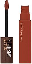 Духи, Парфюмерия, косметика Жидкая матовая помада - Maybelline New York Super Stay Matte Ink Coffee Edition Liquid Lipstick