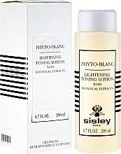 Духи, Парфюмерия, косметика Лосьон-тоник с отбеливающим эффектом - Sisley Phyto-Blanc Lightening Toning Lotion