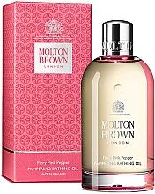 Духи, Парфюмерия, косметика Molton Brown Fiery Pink Pepper Pampering Bathing Oil - Масло для ванны