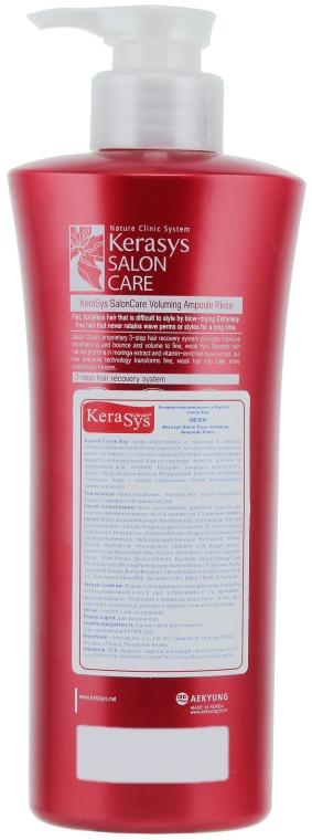 "Кондиционер ""Объем"" - KeraSys Hair Clinic Salon Care — фото N4"