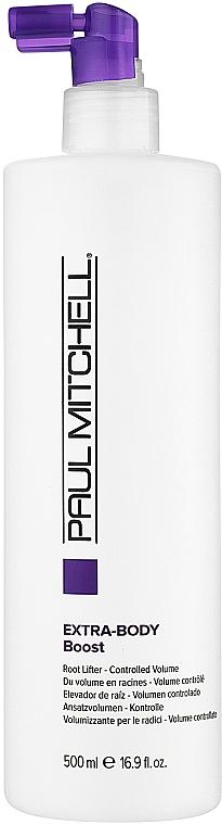Спрей для экстраобъема в прикорневой зоне - Paul Mitchell Extra-Body Daily Boost — фото N2