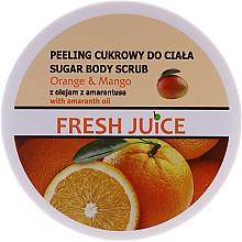 Духи, Парфюмерия, косметика Сахарный скраб для тела - Fresh Juice Orange and Mango