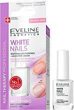 Духи, Парфюмерия, косметика Средство для ногтей с отбеливающим эффектом - Eveline Cosmetics Nail Therapy Professional