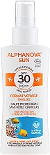 Духи, Парфюмерия, косметика Солнцезащитный спрей - Alphanova Sun Bio SPF30 Spray Voyage