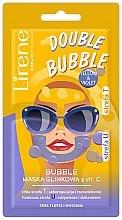 Духи, Парфюмерия, косметика Глиняно-пузырьковая маска с витамином С - Lirene Double Bubble Mask