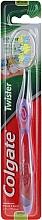 Духи, Парфюмерия, косметика Зубная щетка средняя, 24262, фиолетовая - Colgate Twister Medium Toothbrush