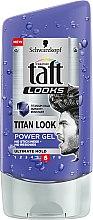 Духи, Парфюмерия, косметика Гель для волос - Schwarzkopf Taft Looks Titan Look Extreme Gel Radically Strong