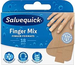 Духи, Парфюмерия, косметика Пластырь для пальцев рук и ног - Salvequick Finger Mix