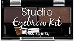 Духи, Парфюмерия, косметика Набор теней для бровей - Miss Sporty Studio Eyebrow Kit
