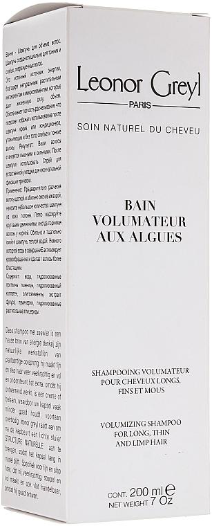 Шампунь с водорослями для придания объема - Leonor Greyl Bain Volumateur aux Algues — фото N1