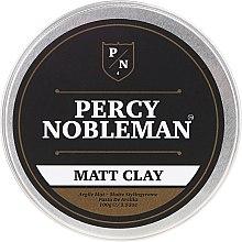 Духи, Парфюмерия, косметика Матовая глина для укладки волос - Percy Nobleman Matt Clay