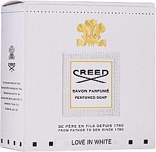 Духи, Парфюмерия, косметика Creed Love In White Perfumed Soap - Парфюмированное мыло