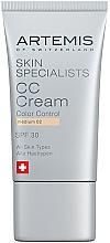 Духи, Парфюмерия, косметика СС крем - Artemis of Switzerland Skin Specialists CC Cream