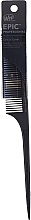 Духи, Парфюмерия, косметика Расческа для волос, черная - Wet Brush Pro Epic Carbonite Tail Comb