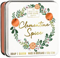 Духи, Парфюмерия, косметика Рождественское мыло Клементина - Scottish Fine Soaps Clementine Spice Soap