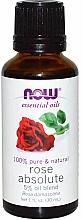 Духи, Парфюмерия, косметика Эфирное масло розы - Now Foods Essential Oils 100% Pure Rose Absolute