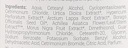 """Бальзам для волос крапивный """"Мягкость и сияние"""" - Рецепты бабушки Агафьи White Agafia Netle Conditioner — фото N3"""