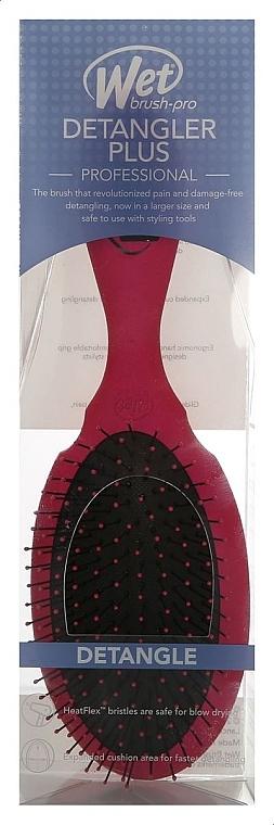 Расческа для спутанных волос, розовая - Wet Brush Pro Detangler Plus Pink — фото N1