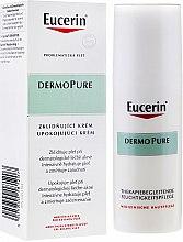 Духи, Парфюмерия, косметика Успокаивающий крем для проблемной кожи - Eucerin Dermo Pure Skin Adjunctive Soothing Cream