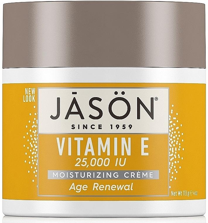 Крем для лица и тела восстанавливающий с витамином Е - Jason Natural Cosmetics Age Renewal Vitamin E — фото N1