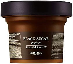 Духи, Парфюмерия, косметика Скраб для лица с черным сахаром - SkinFood Black Sugar Perfect Essential Scrub 2X