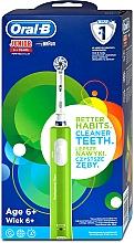 Духи, Парфюмерия, косметика Электрическая зубная щетка детская, от 6 лет - Oral-B Braun Junior