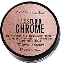 Духи, Парфюмерия, косметика Хайлайтер - Maybelline Face Studio Chrome Jelly Highlighter