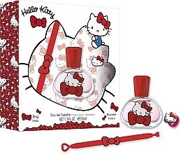 Духи, Парфюмерия, косметика Koto Parfums Hello Kitty - Набор (edt/30ml + bracelet + ring)