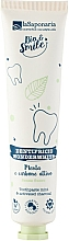 Духи, Парфюмерия, косметика Защитная зубная паста с белой мятой и активным углем - La Saponaria Wonderwhite Mint&Active Charcoal Toothpaste