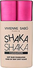 Духи, Парфюмерия, косметика Тональный крем с натуральным блюр-эффектом - Vivienne Sabo Natural Cover Shaka Shaka Foundation (01)