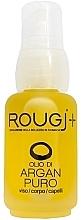 Духи, Парфюмерия, косметика Аргановое масло для лица, тела и волос - Rougj+ Pure Argan Oil