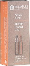 Духи, Парфюмерия, косметика Набор для восстановления волос - Beetre BeNature Demage Repaire Keratin Double Shot (ampoule/2x12ml)