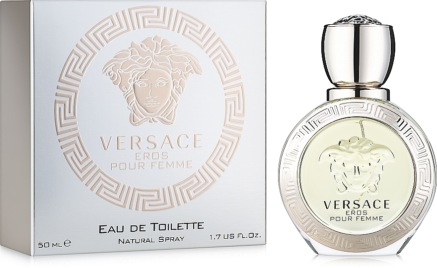 Versace Eros Pour Femme - Туалетная вода — фото N2
