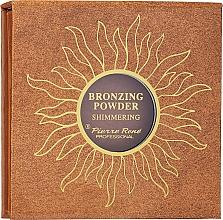 Духи, Парфюмерия, косметика Бронзирующая пудра - Pierre Rene Shimmering Bronzing Powder