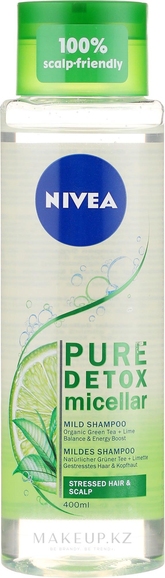 "Мицеллярный шампунь ""Детокс"" - Nivea Pure Detox Micellar Shampoo — фото 400 ml"