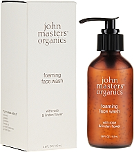 Духи, Парфюмерия, косметика Пенка для умывания с экстрактом розы - John Masters Organics Rose Foaming Face Wash