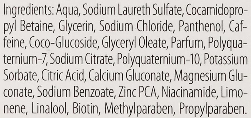 Шампунь нутрикофеиновый против выпадения волос - Plantur Nutri Coffein Shampoo — фото N4