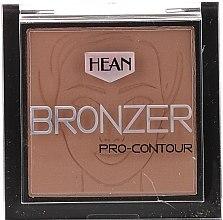 Духи, Парфюмерия, косметика Бронзер для лица - Hean Pro-contour Bronzer