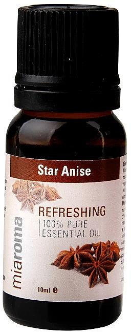 "Эфирное масло ""Звездчатый анис"" - Holland & Barrett Miaroma Star Anise Pure Essential Oil — фото N2"