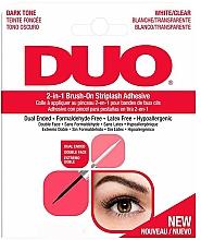 Духи, Парфюмерия, косметика Клей для накладных ресниц 2в1 - Ardell Duo Adhesive 2in1 Lash Brush On Clear&Dark
