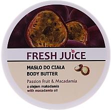 """Духи, Парфюмерия, косметика Крем-масло для тела """"Маракуйя и макадамия"""" - Fresh Juice Passion Fruit & Macadamia"""