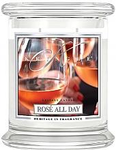 Духи, Парфюмерия, косметика Ароматическая свеча в банке - Kringle Candle Rose All Day