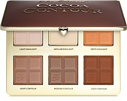 Духи, Парфюмерия, косметика Палетка контуров и хайлайтеров - Too Faced Cocoa Contour Palette